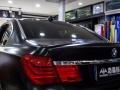 宝马750改色贴膜电光黑 全国接收车身改色加盟培训