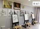 成都双流华阳中和镇美术培训画室 中和镇附近教画画 简素画室