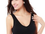 运动无缝内衣夏季聚拢大码调整形文胸隐形瑜伽无痕背心式胸罩代发