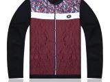 冬季新款加绒加厚保暖长袖T恤 圆领时尚个性男式打底上衣厂家直销