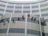 松江区外墙清洗 内外墙涂料施工 外墙防水工程等高空玻璃清洗