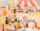 长沙气球布置-宝宝宴布置-年会气球布置-卡通人物主题布置