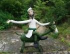济南仿真绿雕造型景观雕塑草雕稻草人艺术产品生产厂家