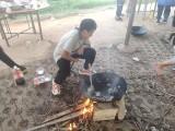 武漢秋季家庭游,江夏周邊露營燒烤,武漢秋季親子游去玩