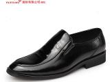 14爆款香港红蜻蜓低帮漆皮男鞋 舒适时尚经典休闲内增高真皮皮鞋