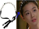 韩国韩版饰品 发饰来自星星的你 千颂伊全智贤同款 头饰珍珠发箍
