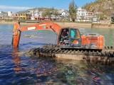 安徽出租水陆两用挖掘机 改装挖掘机 水上挖掘机 水陆两栖挖掘