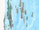 張復興百米長卷絲綢之路圖 聯袂創作長卷亮相故宮博物院