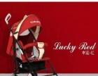 出售红色婴儿车一台