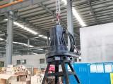 潜水曝气机 生化池离心曝气增氧泵QXB5.5