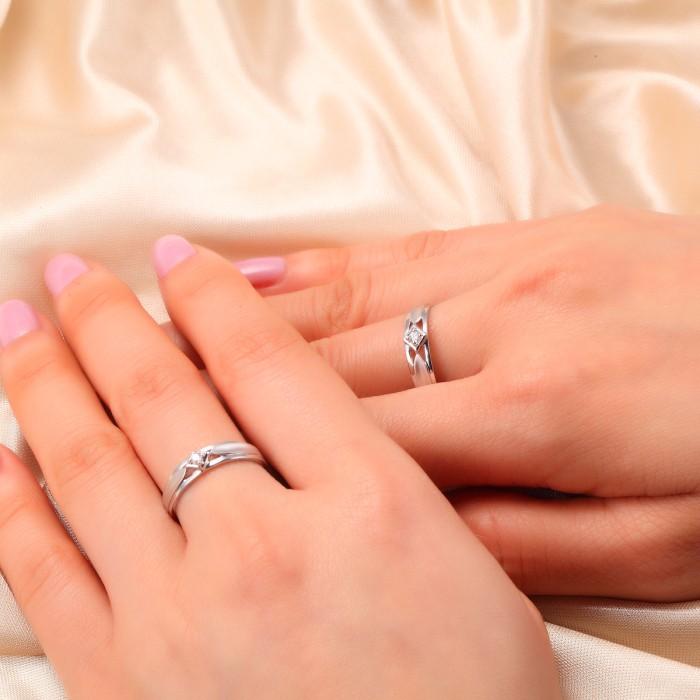 武汉久福源珠宝,定制钻戒婚戒对戒,对戒2399一对