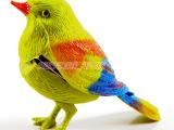 HL仿真声控袖珍鸟 儿童搞笑玩具 会唱歌的小动物 淘宝热销