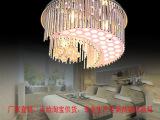 灯饰厂家 现代简约吸顶灯圆形水晶灯古镇餐厅灯家居客厅天花灯