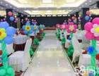 遂宁市宝宝宴气球布场儿童生日派对小丑表演促销主持人