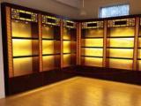 前顺家具工厂专业生产展示柜药拒化妆品柜手机柜珠宝柜