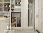 上海玛格定制案例图片 暖白全屋实木板材制作 玛格定制时尚