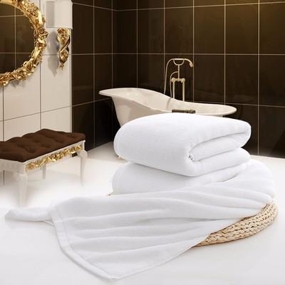 河北高阳亿嘉禾白色纯棉毛巾厂家供应酒店宾馆
