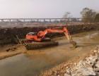 惠州市工程机械设备租赁水上挖机出租服务用途