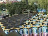成都大型户外商场广场游戏互动暖场道具 蜂巢迷宫租凭可定制