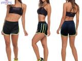 2015夏季新款韩版休闲运动弹力短裤女沙滩裤热裤均码打底裤 批发
