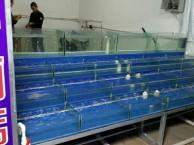 常熟鱼缸定做制作酒店海鲜鱼缸观赏鱼缸大闸蟹鱼缸维修