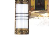 户外壁灯定做|不锈钢云石壁灯|外墙过道壁灯|室外工程灯