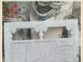 石雕栏板 石雕护栏 汉白玉栏板