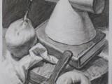 乐艺画室美术素描色彩中考强化培训班
