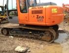 二手挖掘机转让二手日立zax120低价出售