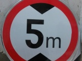 交通限速5公里标志牌铝板反光标识牌驾校标