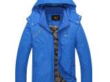 新品冬季 韩版潮男修身男士棉衣 时尚保暖棉袄男士加厚棉衣外套