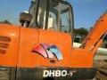 斗山 DX80 挖掘机  (活太少,低价卖一台)
