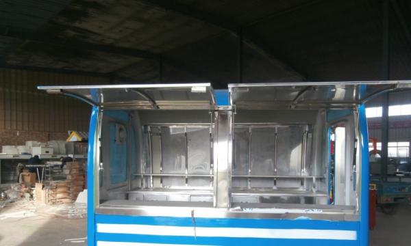 快餐车早餐车电动小吃车烧烤车移动商铺煎饼酸辣粉酸辣粉大饼车