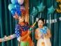 魔术小丑表演互动艺术气球派发