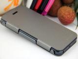 苹果iphone 5金属翻盖手机保护壳保护套 商务手机皮套工厂批