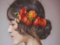 空气感新娘抽丝造型时尚唯美竟在太原卓美