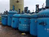 出售二手搪瓷反应釜 二手3-5吨电加热搪瓷反应釜 二手反应釜