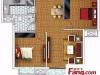 芙蓉房产2室2厅-53万元