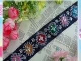 2012 最炫民族风 时尚刺绣珠片花边