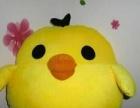 大号可爱小黄鸡抱枕公仔