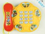 儿童早教启蒙玩具多功能音乐电话机益智玩具33602音乐启蒙电话