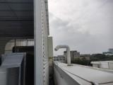 专业后厨排风机维修排烟管道维修排风机更换改造效果