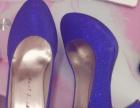 blingbling蓝鞋