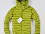 厂家直销 男式户外运动薄款轻薄连帽羽绒服 男装冬装羽绒袄外套