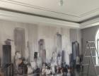专业墙体彩绘、3D立体画、壁画、艺术装饰画、手绘
