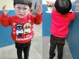 一件代发16冬季新款韩版全棉宝宝加绒卫衣