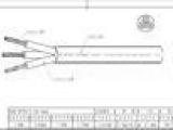 H07RN-F 3G4.0mm2起重机电缆行车电缆线电焊机欧式欧