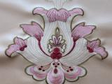 芭尚热销新款软包刺绣装饰革PU革面料环保美观厂家直供