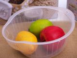批发日用小百货 厨房用品 透明塑料洗米箩 淘米箩