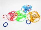 广州地摊玩具批发  拉线飞轮发光儿童玩具拉线飞轮直销11